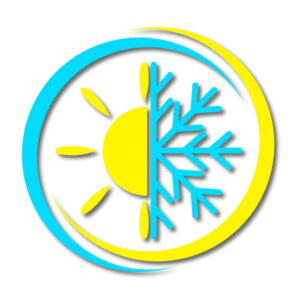 sun-and-snowflake-badge